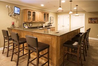 Totally basements basement remodeling cranbury nj for Kitchen cabinets 07726